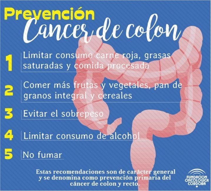 cancer de colon hombres sintomas)