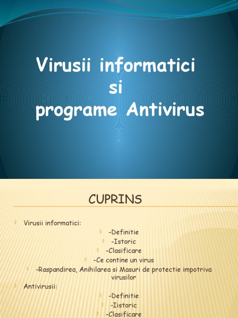 virusi definitie
