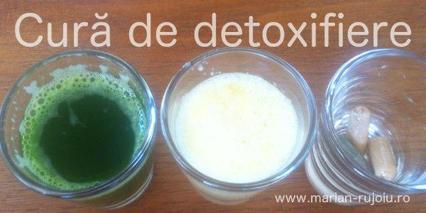 cura detoxifiere de o zi
