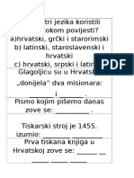 hrvatski jezik gramatika testovi 8 razred