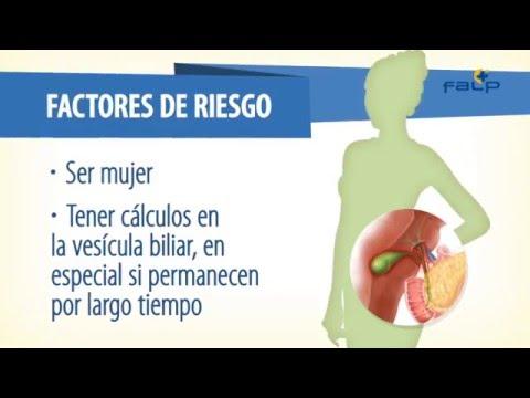 cancer vesicula biliar factores de riesgo