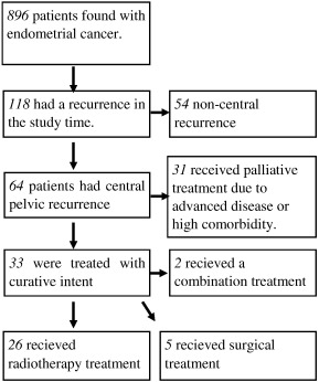 endometrial cancer recurrence rate)