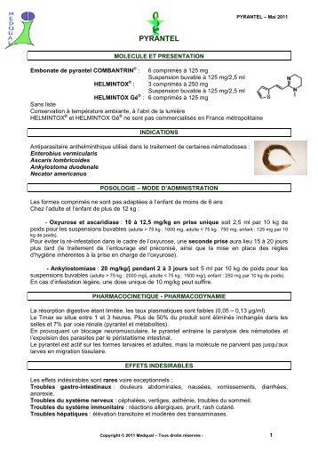 helmintox indication