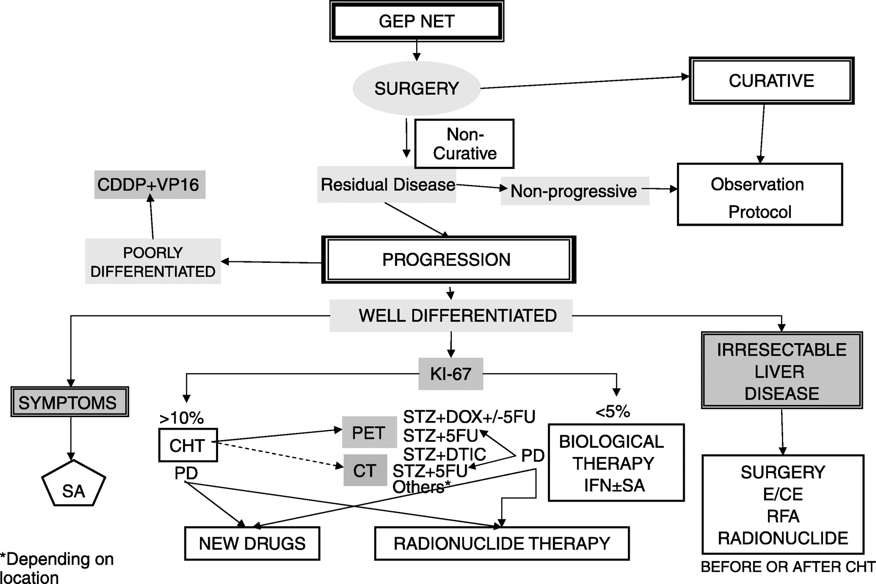 neuroendocrine cancer therapy)