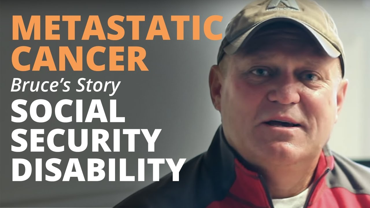 metastatic cancer disability)
