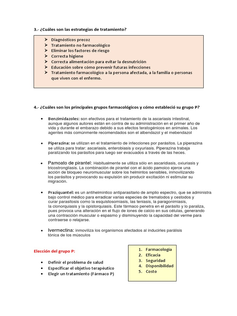 oxiuros tratamiento piperazina