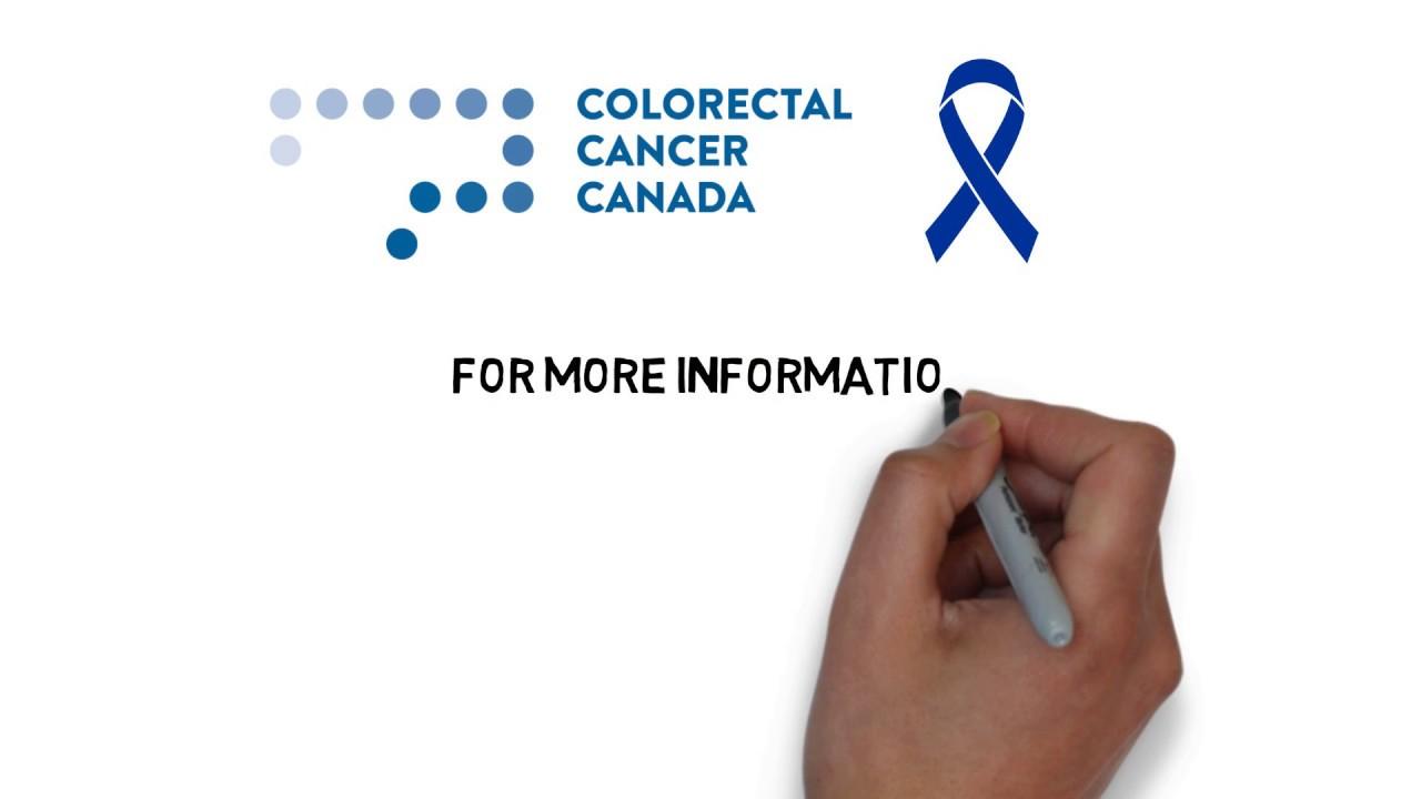 cancer colon canada)