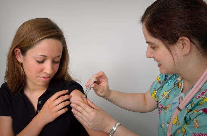 papillomavirus femme vaccin)