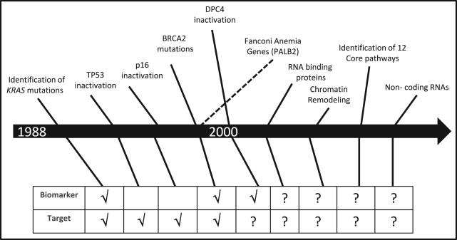 pancreatic cancer timeline