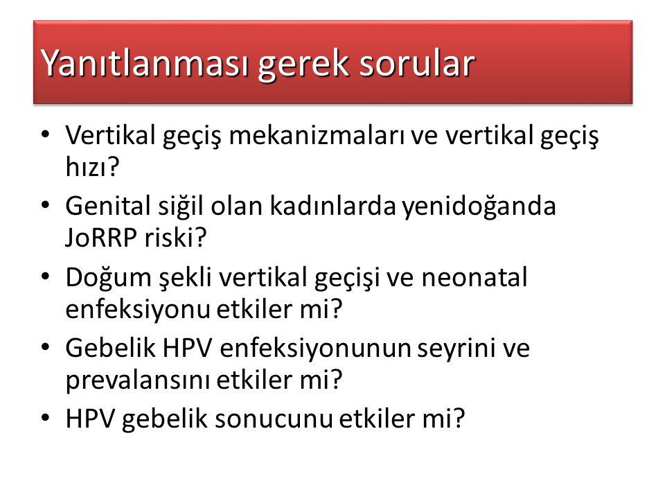hpv tedavisi ppt cancer genetic mutation treatment