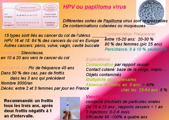 hpv virus homme
