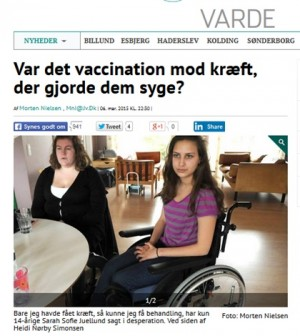 hpv vaccine bivirkninger)