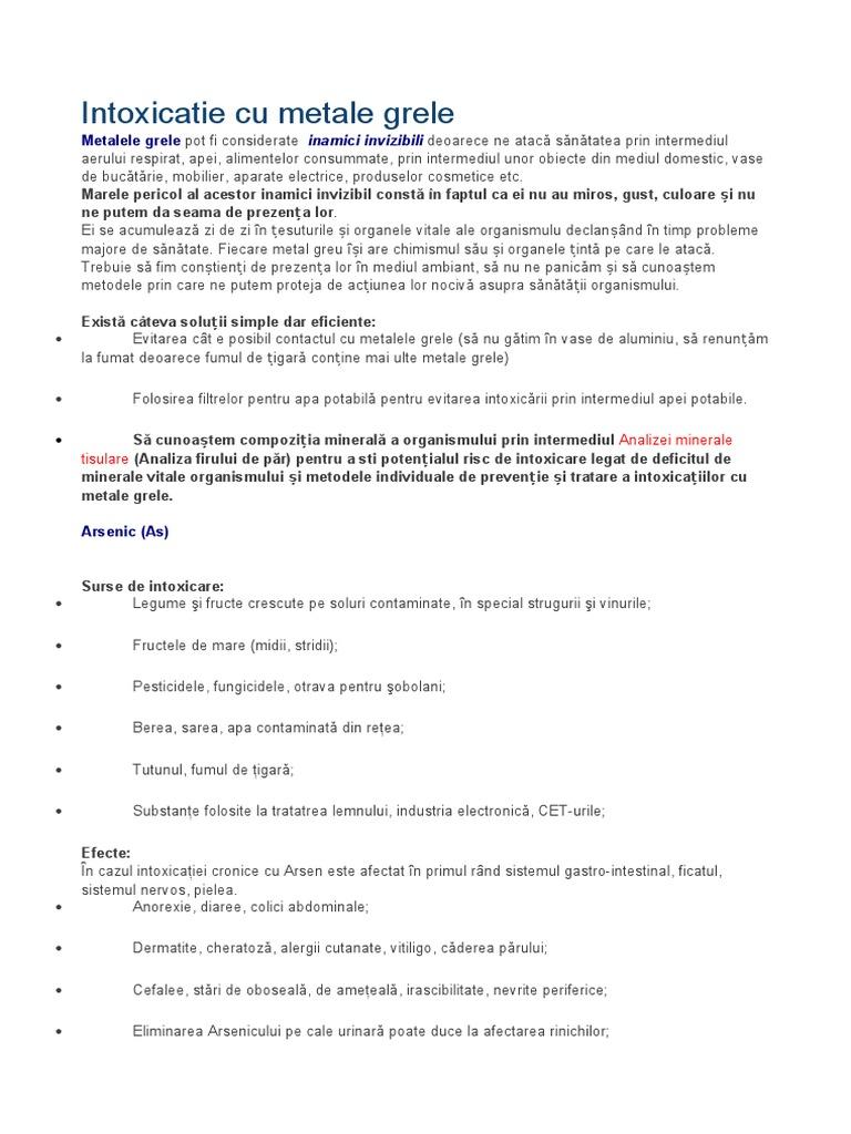 Sugestii pentru detoxifierea de metalele grele | evenimente-corporate.ro