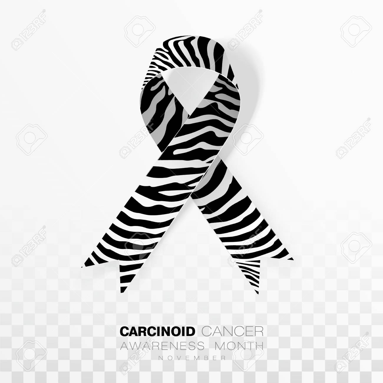 neuroendocrine cancer ribbon color)
