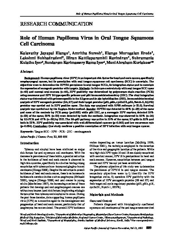 papilloma virus journal