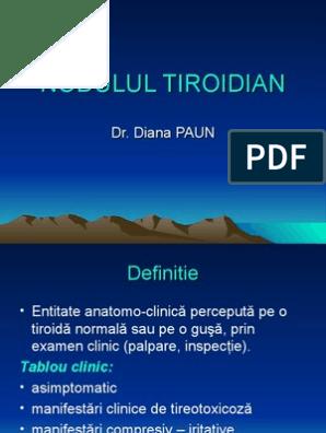 cancerul tiroidian definitie)