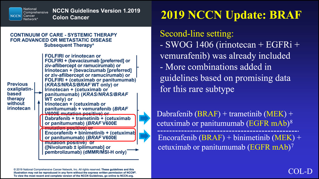 rectal cancer nccn 2019)