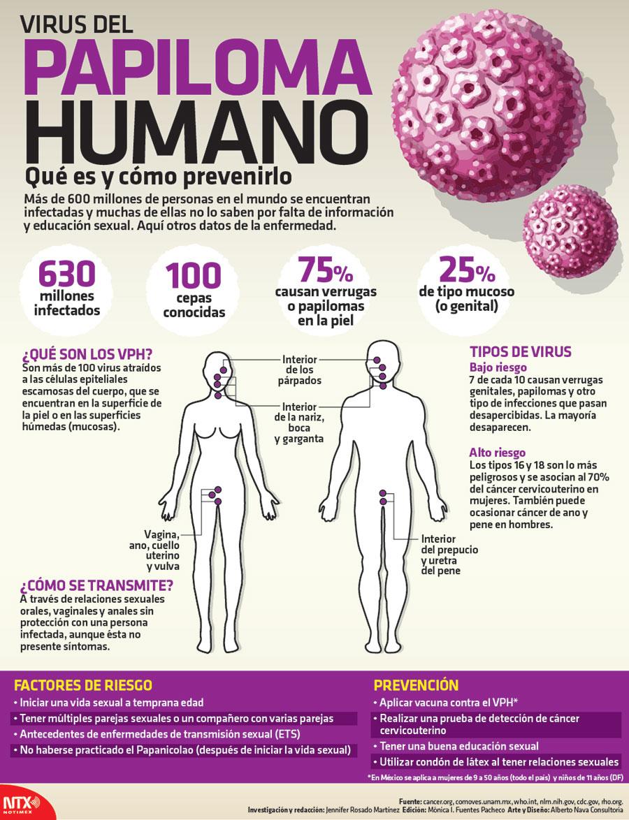 caracteristicas del papiloma humano en hombres
