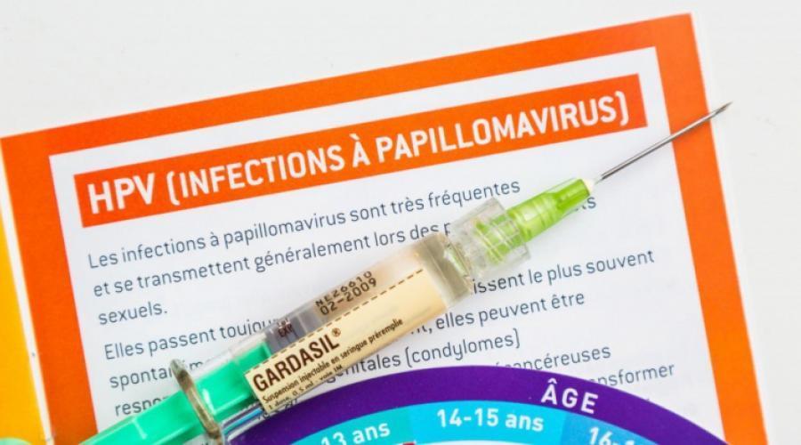 papillomavirus transmission accouchement