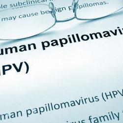 papillomavirus test positive)
