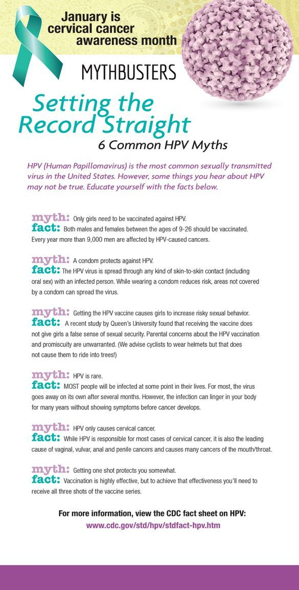 facts about hpv and cervical cancer