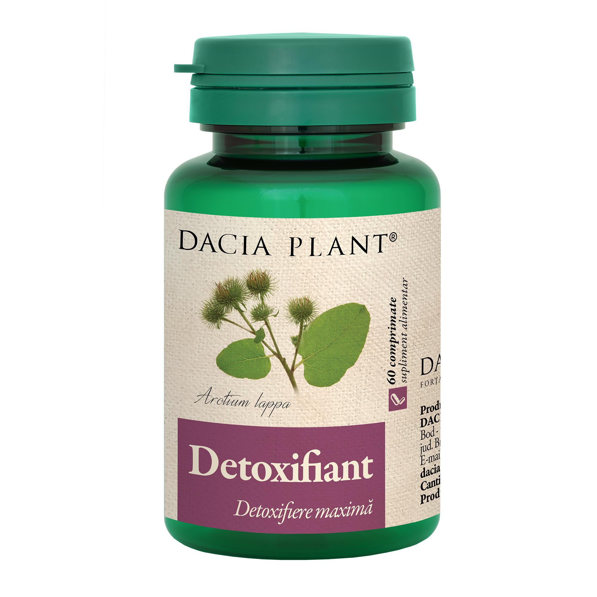 detoxifiere pastile