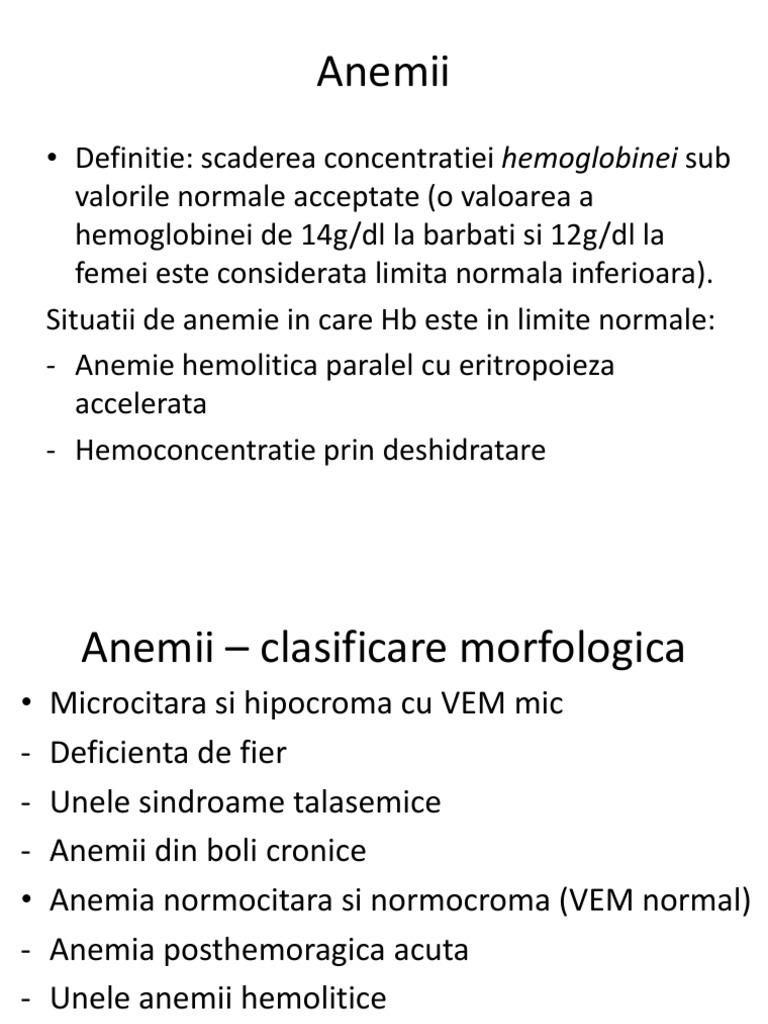 Anemie Microcitara - definitie | evenimente-corporate.ro