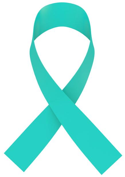 peritoneal cancer ribbon)