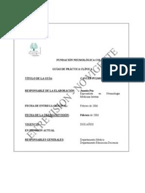 cancer pulmonar gpc 2019 human papillomavirus treatment for infection
