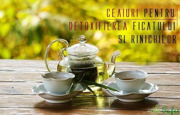 detoxifiere si regenerare ficat
