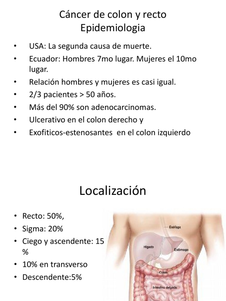 cancer de colon y recto gpc)