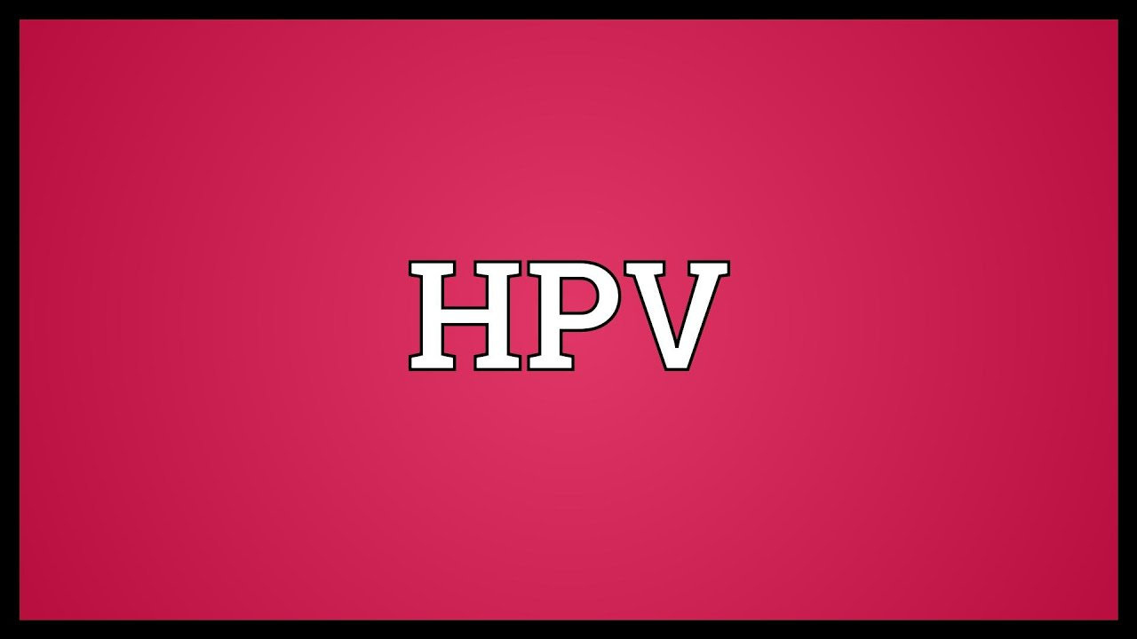 hpv full meaning