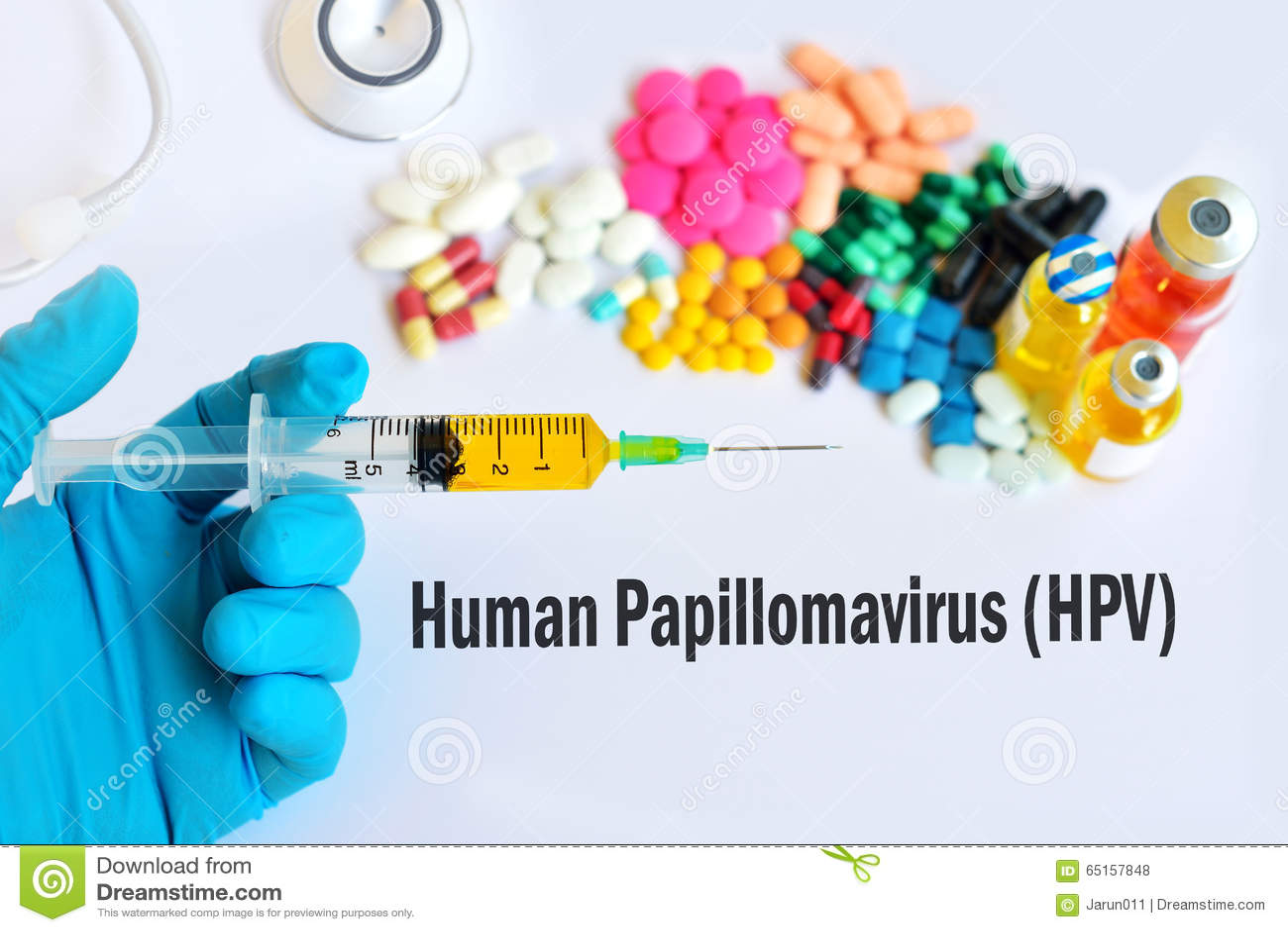 medical treatment for human papillomavirus)