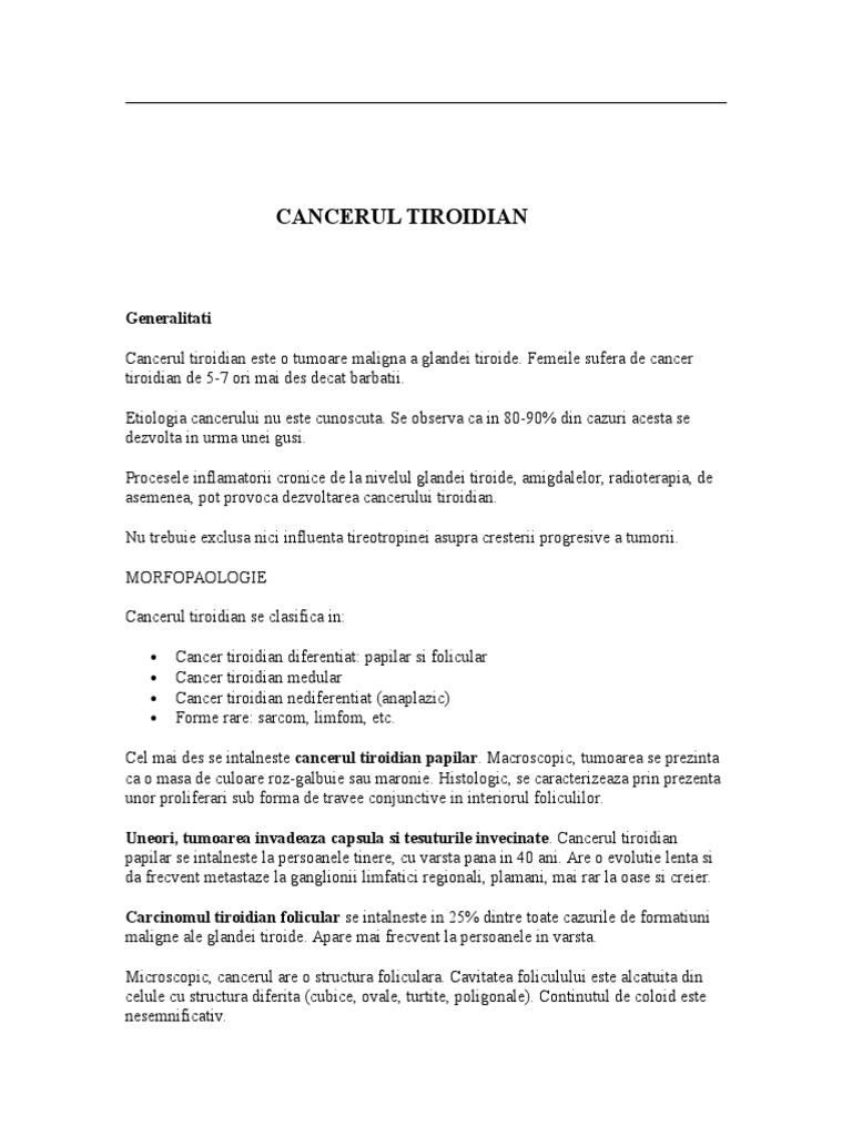 (DOC) Patologia chirurgicala a glandei tiroidei | Dora Ilisiu - evenimente-corporate.ro