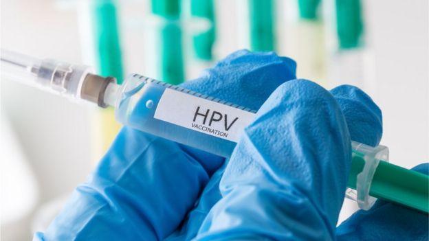 cancer in gat hpv)