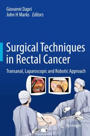 rectal cancer robotic surgery)