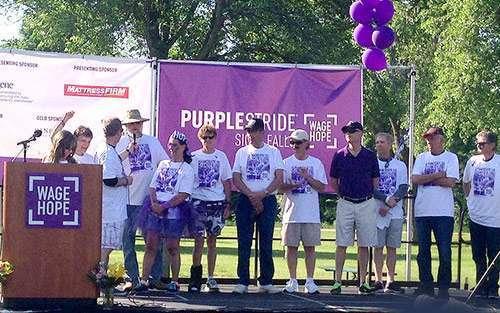 pancreatic cancer walk)