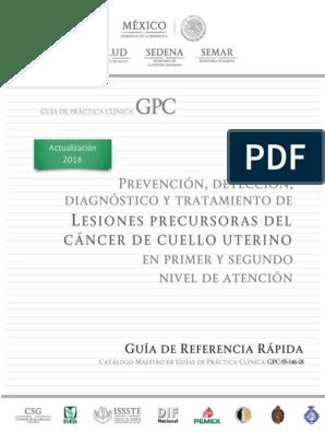 virus del papiloma humano gpc)