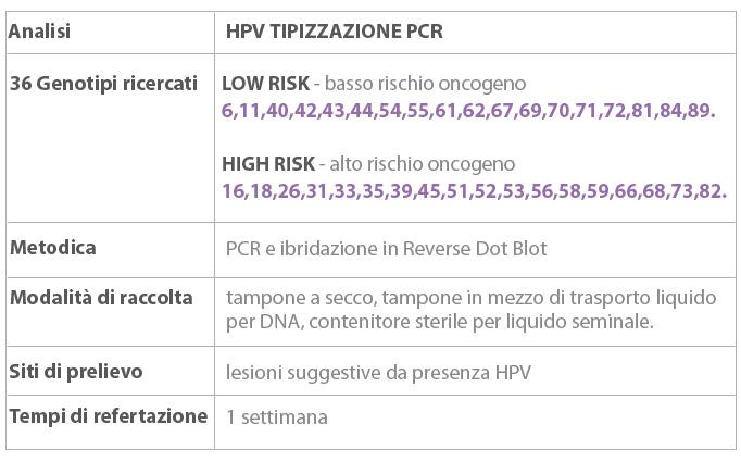 hpv ad alto rischio