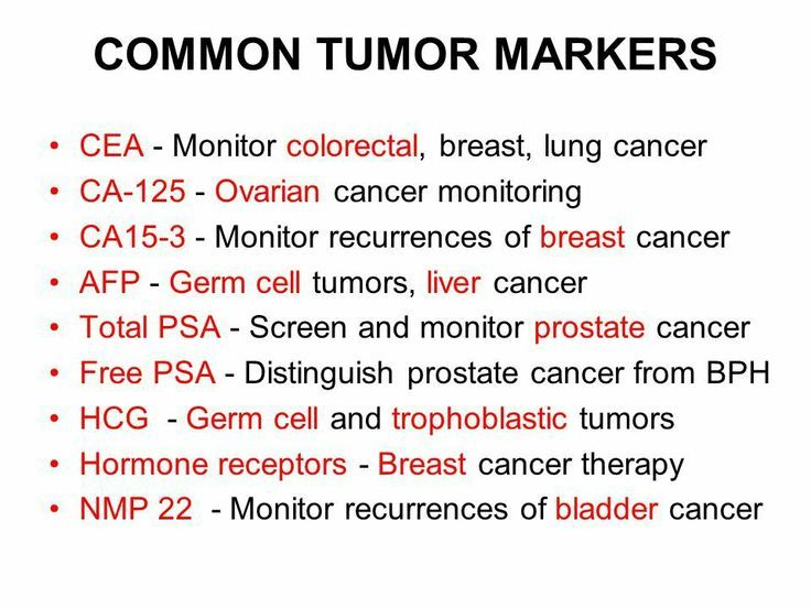 hepatic cancer markers)