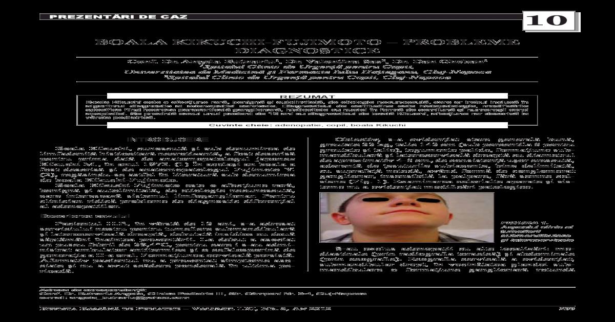 toxoplasmoza ganglionara
