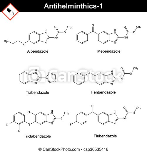 anthelmintic drugs chemical)