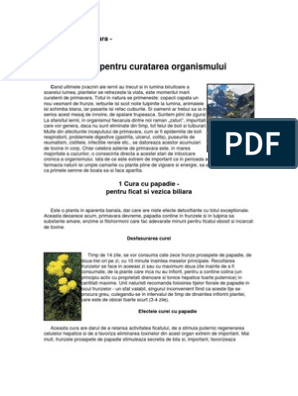 prezența elementelor parazite în organism)