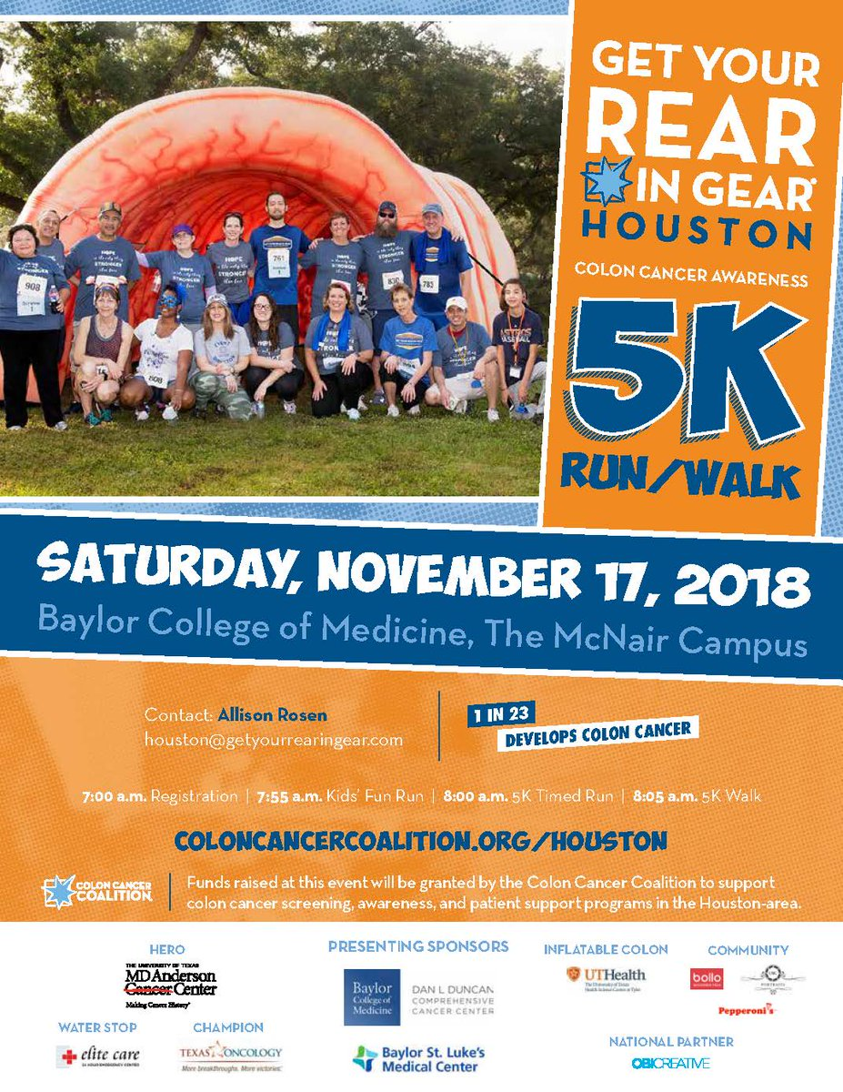 colorectal cancer 5k)