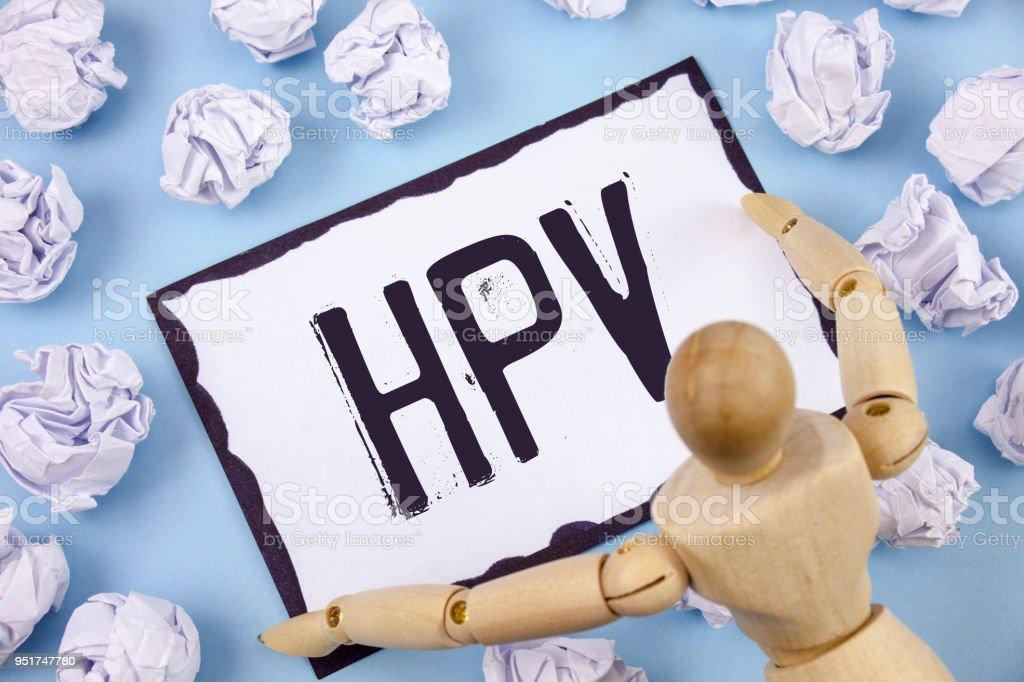 papillomavirus infection meaning)