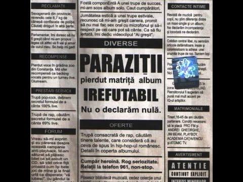 Текст песни Parazitii — Zero (live) / Lionlyrics