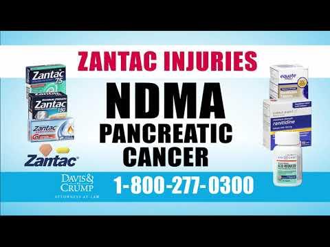 pancreatic cancer zantac)