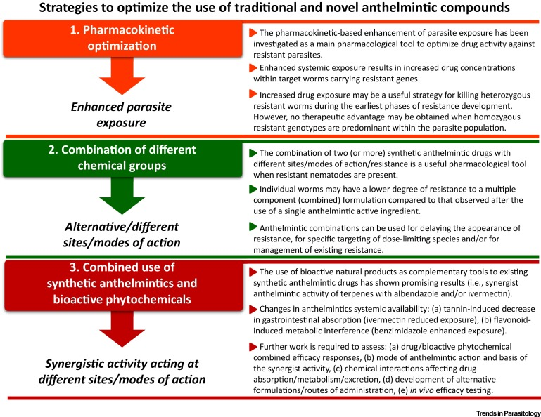 definition of anthelmintic treatment)