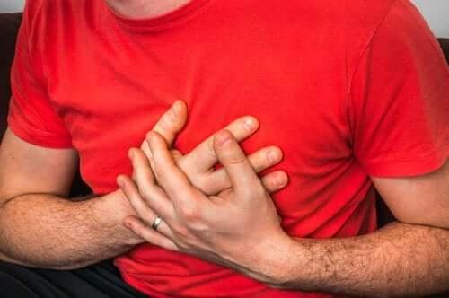 durerea in piept raceala tratament