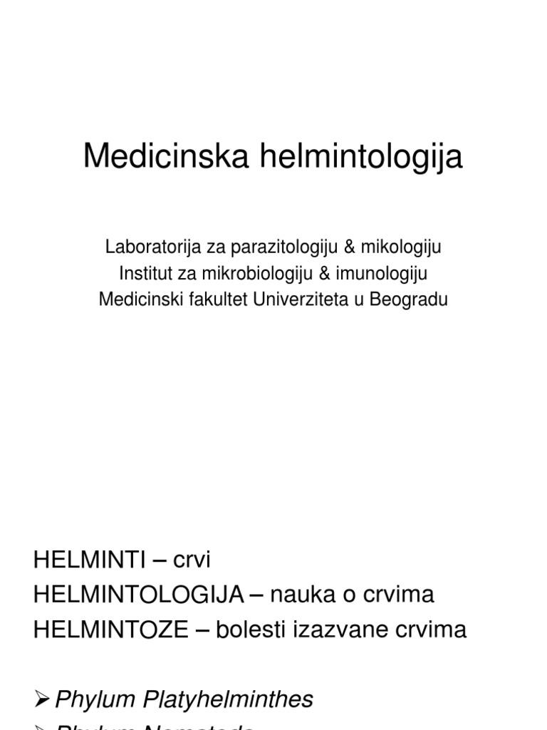 helminti podela)